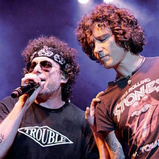 ¡Enrique Bunbury y Andrés Calamaro juntos en el Foro Sol!