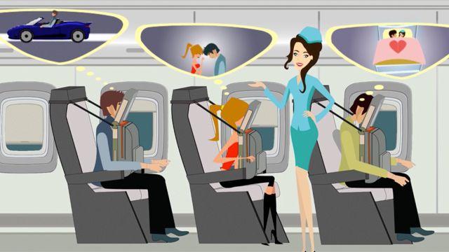 Boeing quiere que duermas más cómodo en el avión con su nuevo invento