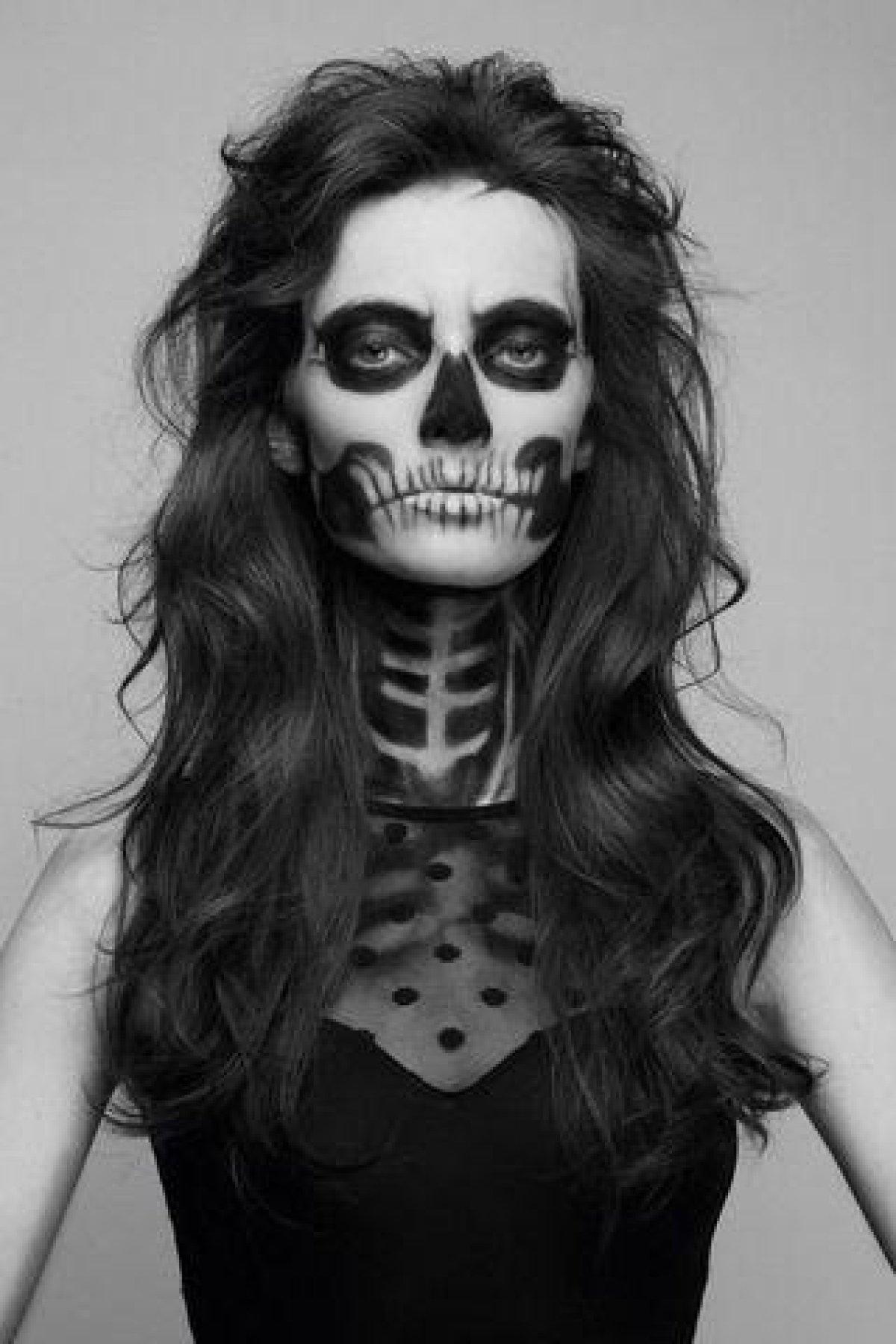 Disenos De Maquillaje Para Halloween Fotogaleria Moda Y Belleza - Maquillage-para-halloween