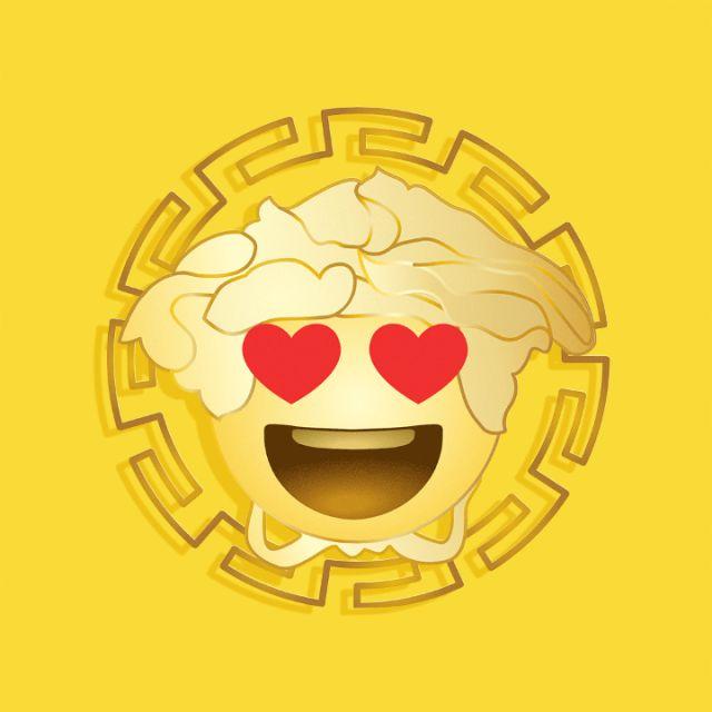 Versace lanza su app de emojis