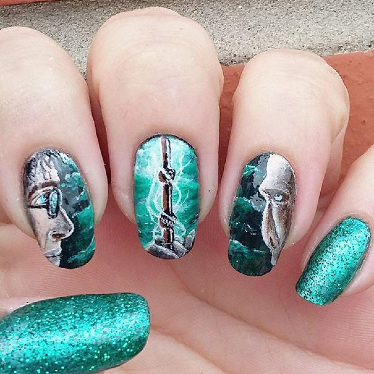 harry potter uñas, uñas, harry potter: ¡Uñas estilo Harry Potter ...