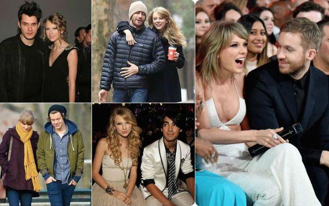 El abundante catálogo de ex novios de Taylor Swift   Actualidad ... 791290244a