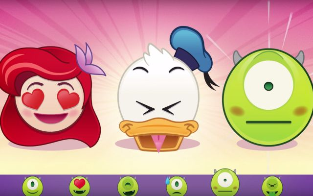 ¡Disney ya tiene sus propios emojis!