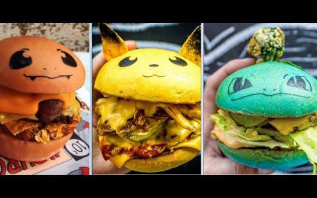 Crean hamburguesas basadas en el juego Pokémon Go