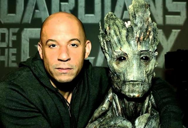 Vin Diesel hará la voz de Groot en 16 idiomas