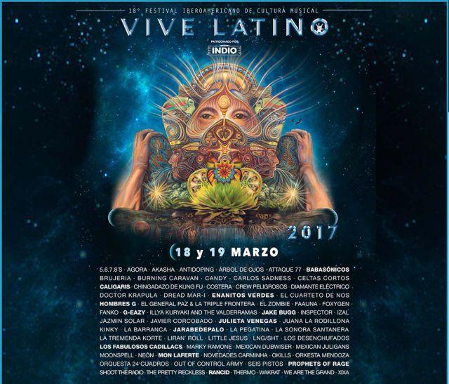No te pierdas el Vive Latino 2017