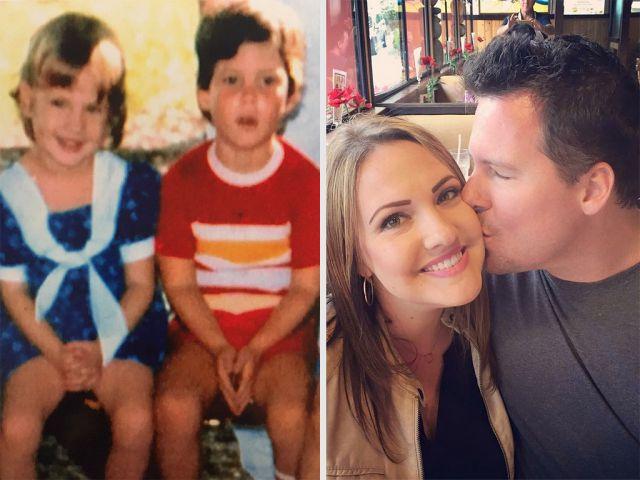 Se enamoraron sin saber que ya se conocían de 30 años antes