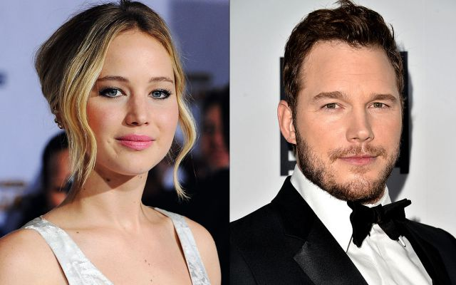 Jennifer Lawrence y Chris Pratt en duelo de insultos