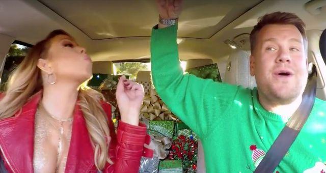 El Carpool Karaoke más navideño