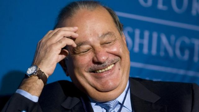 Donald Trump y Carlos Slim estuvieron juntos en Florida
