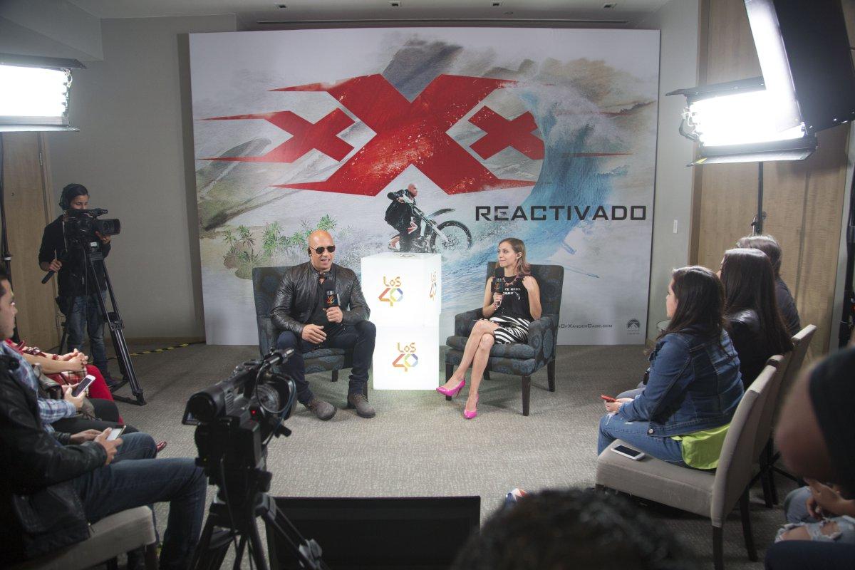 Así se vivió #Los40Videochat con Vin Diesel