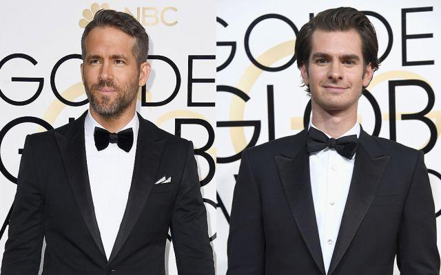 El inesperado beso entre Ryan Reynolds y Andrew Garfield