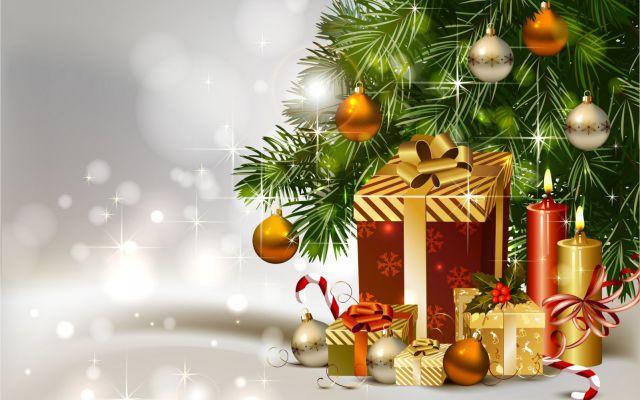 Un árbol de navidad con un olor muy particular