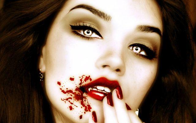 La mujer vampiro que te dará pesadillas