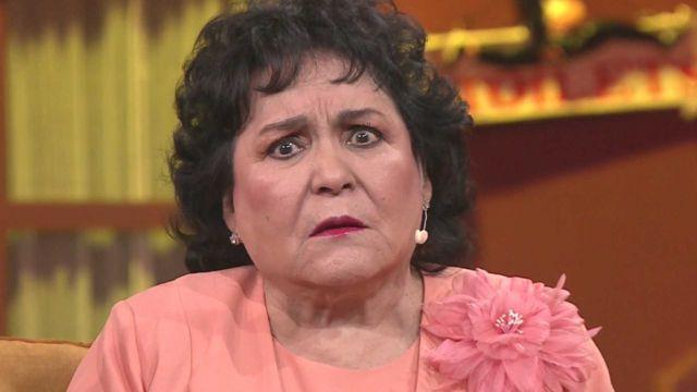 """Carmen Salinas no quiere morir por """"jitomatazos"""""""