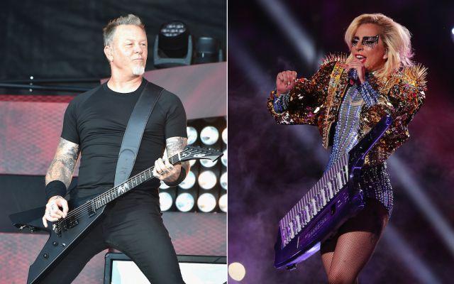 Lady Gaga estará con Metallica en los Grammy