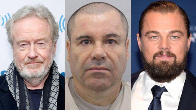 Leonardo Di Caprio participará en una película sobre el Chapo Guzmán