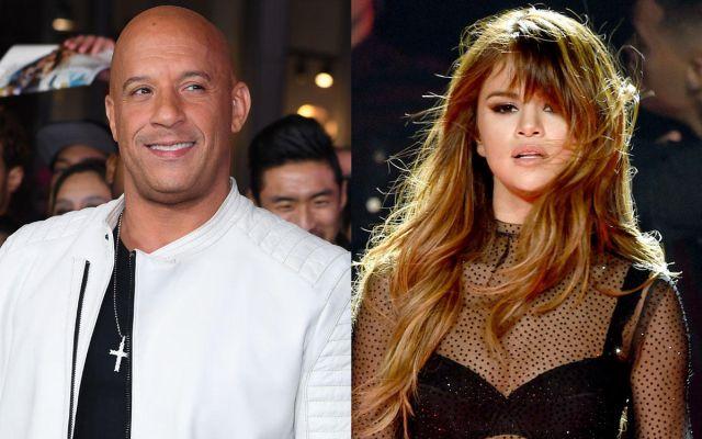 Vin Diesel se lanza como cantante a dueto con Selena Gomez