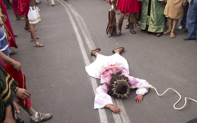 Se nos va el Cristo de Iztapalapa