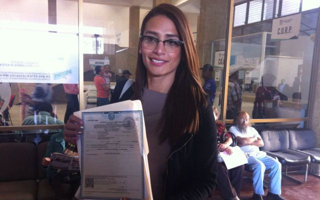 La primera mujer trans que rectifica su acta de nacimiento
