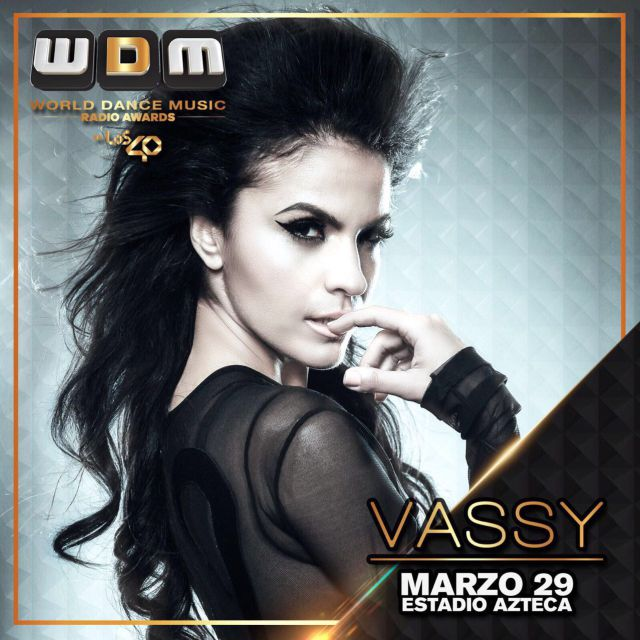 Vassy, la nueva confirmada en los World Dance Music Radio Awards