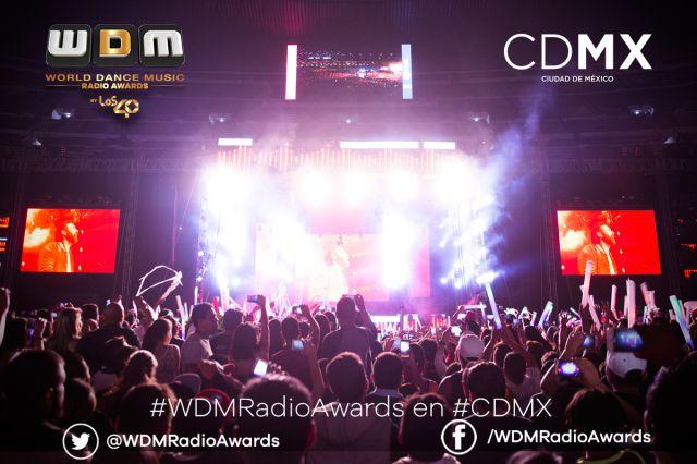 Premiación, música electrónica y gran ambiente vivimos en los World Dance Music Radio Awards en #CDMX