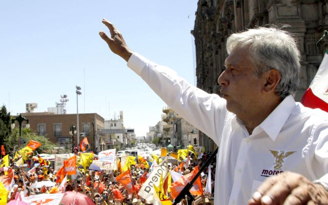 Acusan a Andrés Manuel por propagar discursos religiosos
