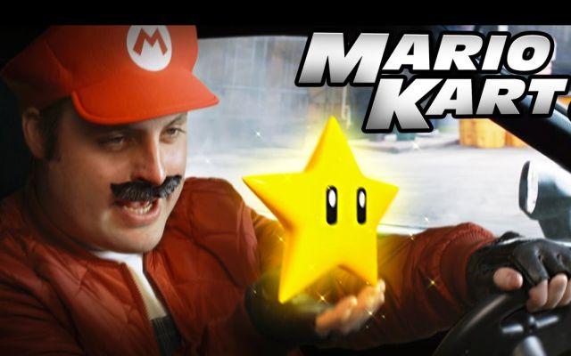 """""""Rápido y furioso"""" al estilo de Super Mario Bros"""