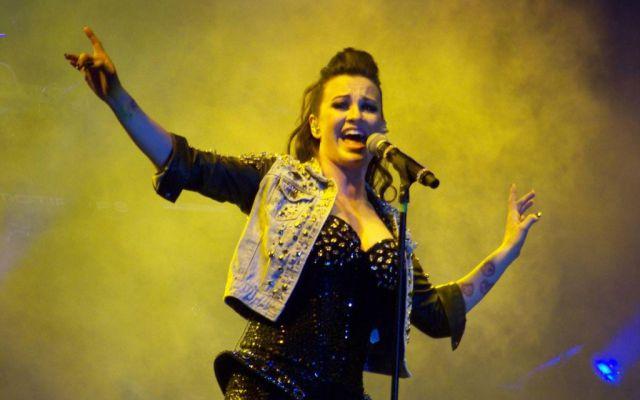 María José en concierto