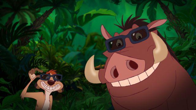 El rey león Live-Action ya tiene Timón y Pumba