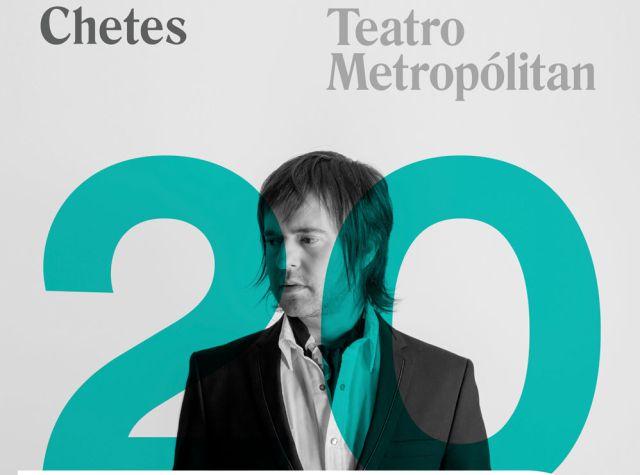 Chetes celebra 20 años de carrera en el Metropolitan
