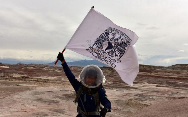 Estudiante de la UNAM participará en investigaciones de Marte