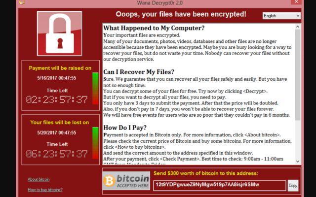 """El virus cibernético """"WannaCry"""" afectó a más de 200,000 personas"""