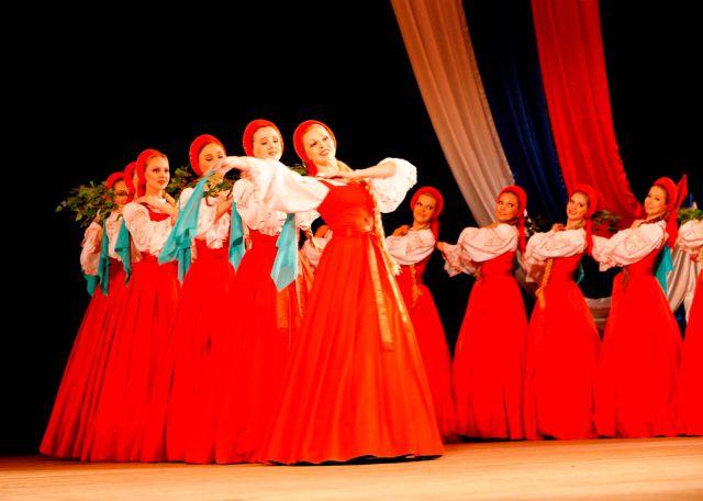 Bailarinas flotantes de Rusia
