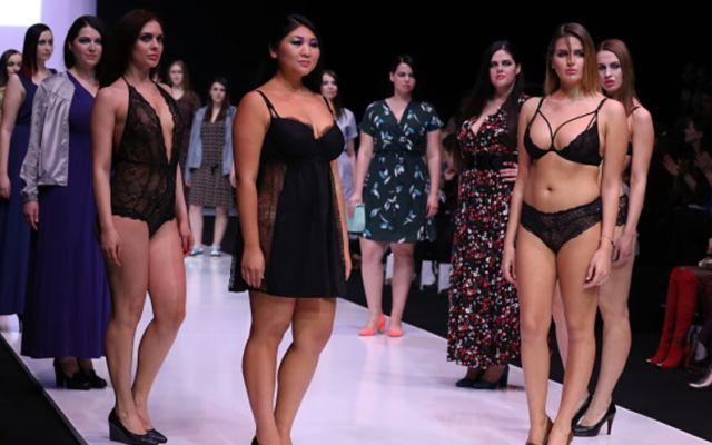 Las Modelos de talla grande triunfan en China