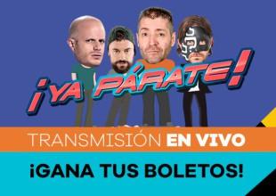Revive la transmisión en vivo de Ya Párate