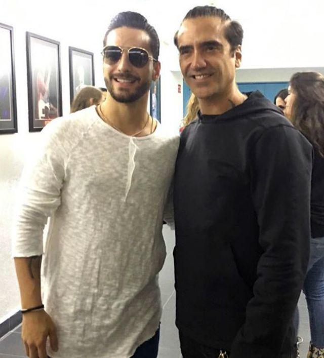 ¿Alejandro Fernández y Maluma juntos?