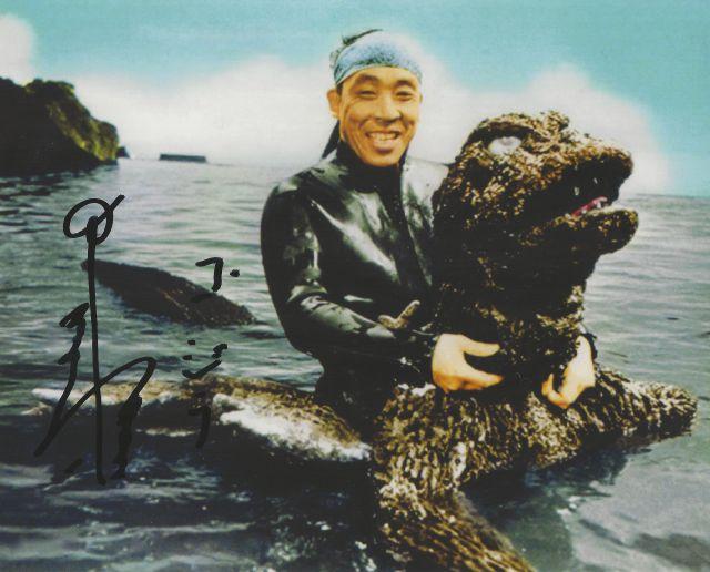 Haruo Nakajima interpretó a Godzilla 12 veces, falleció por causa de neumonía