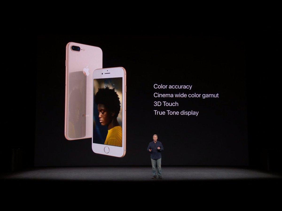 Imágenes oficiales del iPhone X y el iPhone 8