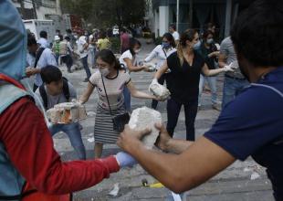 Famosos ayudan por tragedia en México