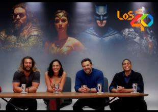 La Liga de la Justicia manda un mensaje especial a De Película y Los 40