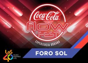 Disfruta del Coca-Cola Flow Fest