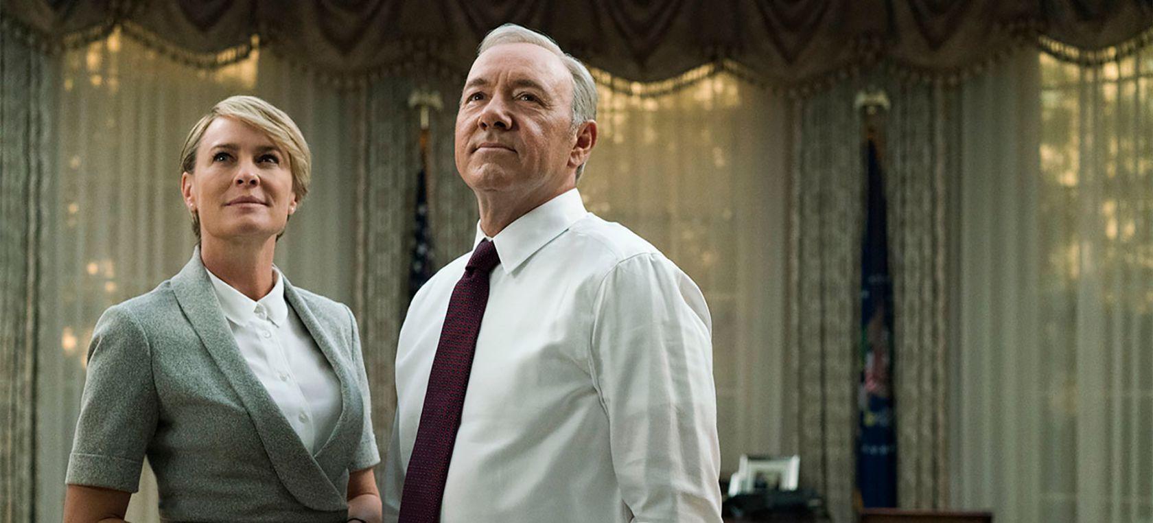 Netflix: House of Cards reanuda filmación; Robin Wright será la ...
