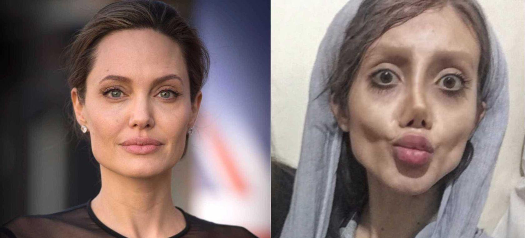 Sahar Tabar Images >> Viral: Así lucía la chica que se operó para parecerse a Angelina Jolie | Moda y Belleza | LOS40 ...