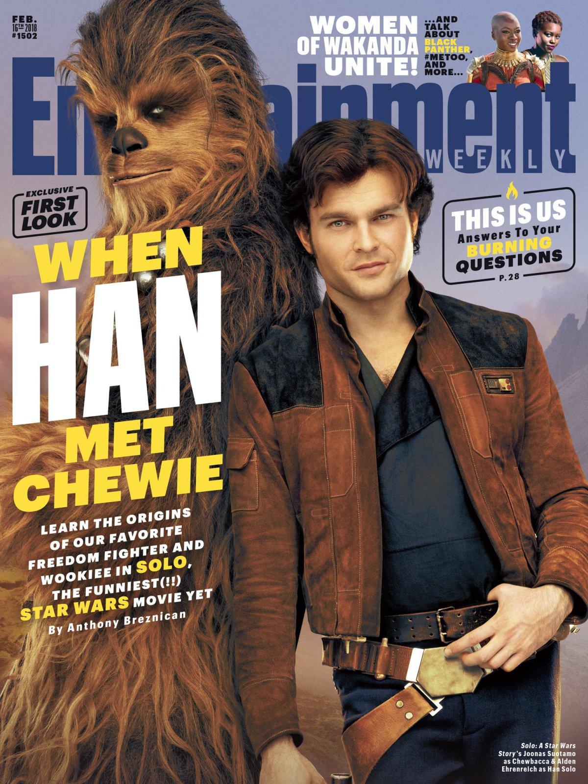 Revelan imágenes de Solo: Una Historia de Star Wars