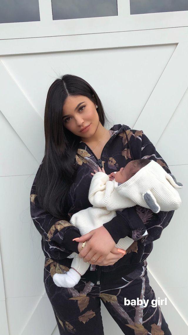 Kylie Jenner y su bebé Stormi