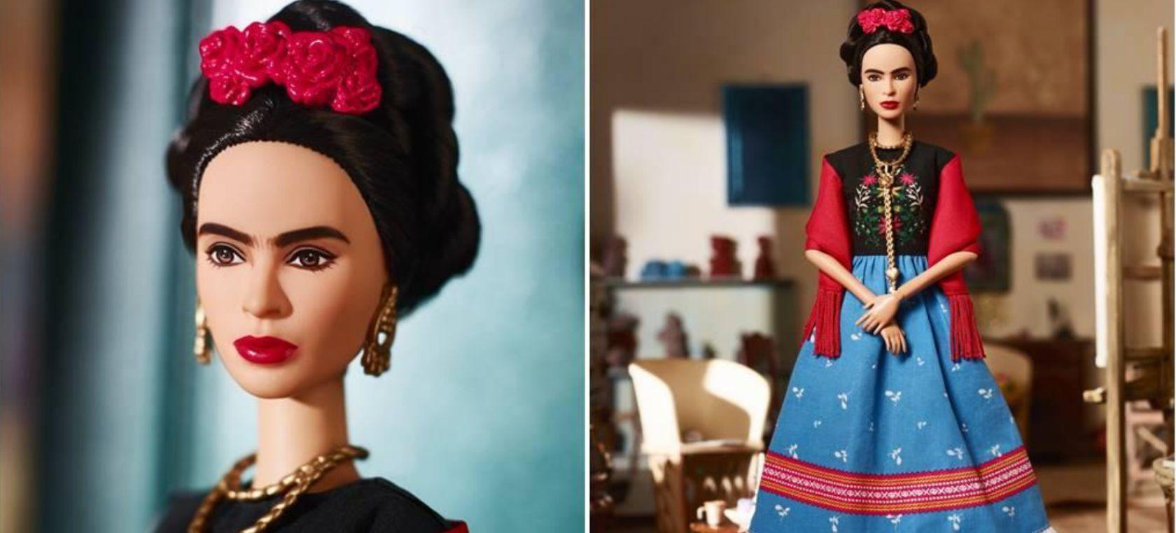 Resultado de imagen para barbie frida kahlo 2018