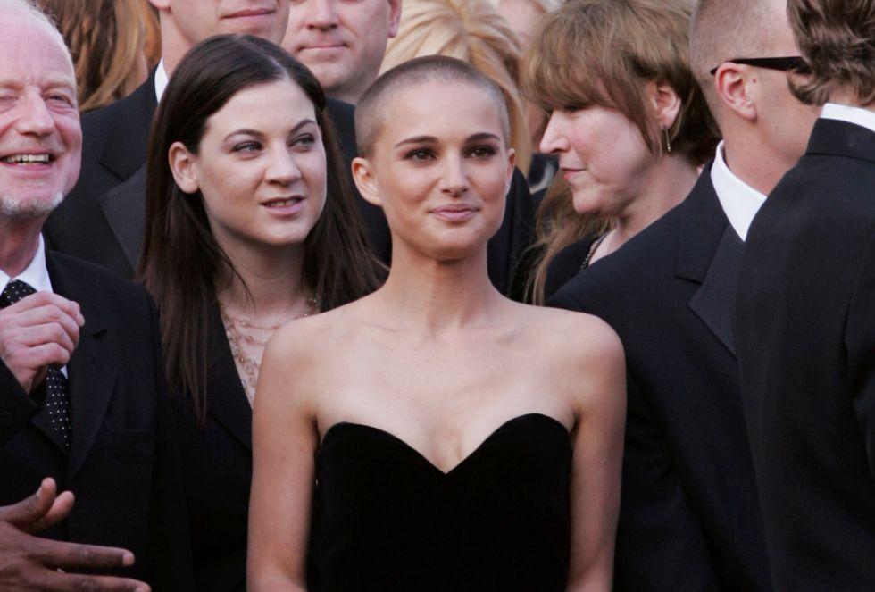 Natalie Portman rapada
