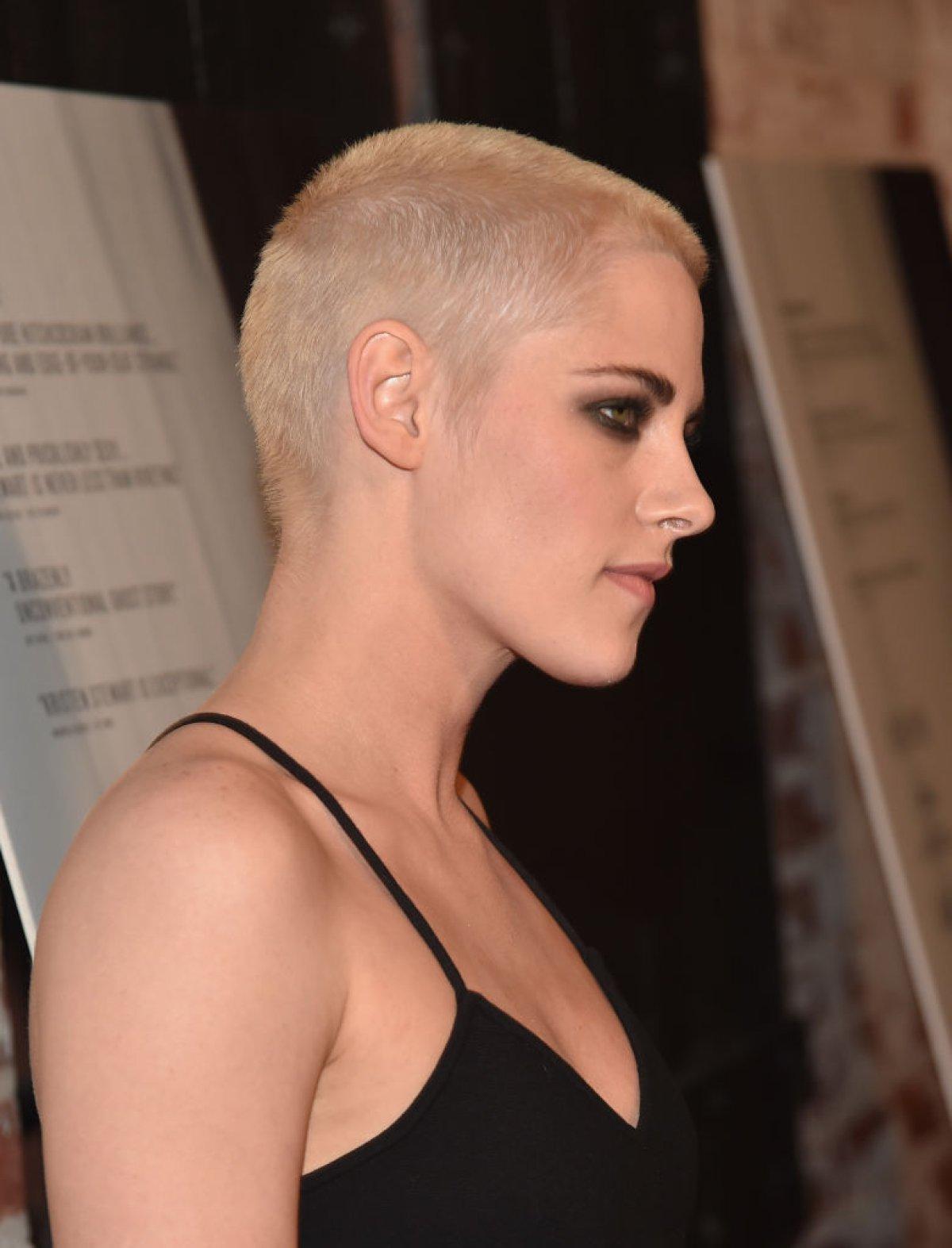 Kristen Stewart rapada