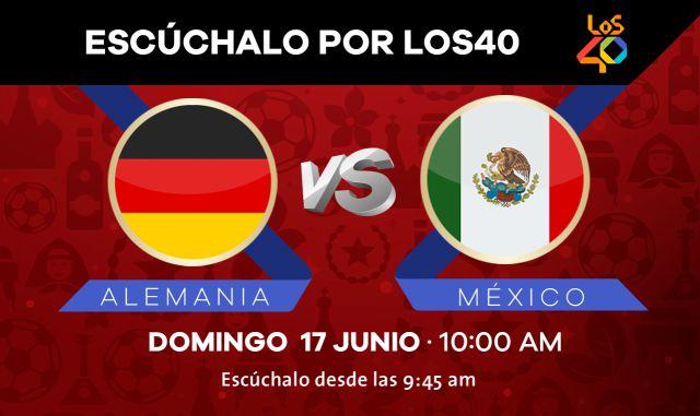 Escucha los partidos de México desde LOS40